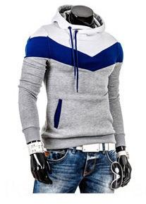oEQLU AKEcd 2015 pull-over et ressort correspondant hommes pull hommes automne sports style pull-over à capuche couleur mode coupe slim coréenne sw casual