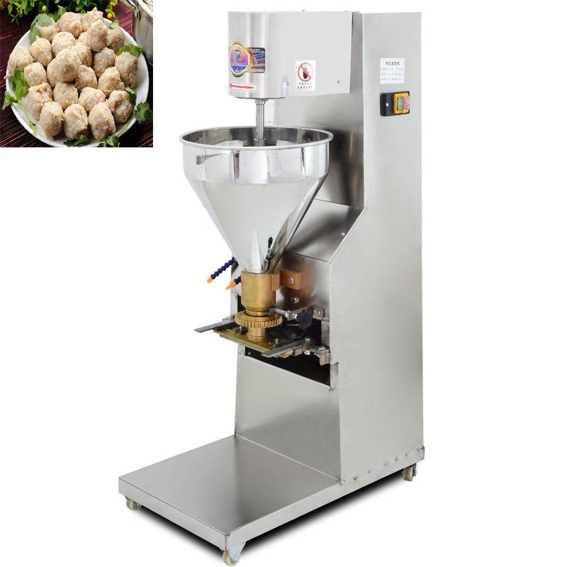 Yeni Köfte Machinemultifunctional küçük ticari balık ve koyun eti köfte makinesi / elektrikli köfte satışı fiyatı oluşturan