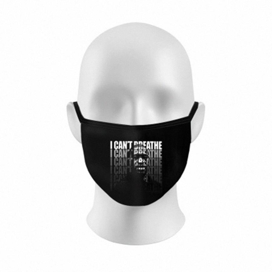 6% K95 frente de válvula de respiración de filtro máscara de capa reutilizable Máscaras Letter diseñador de la máscara protectora Mascherine Moda Negro Cara Shi # 934 # J5BX