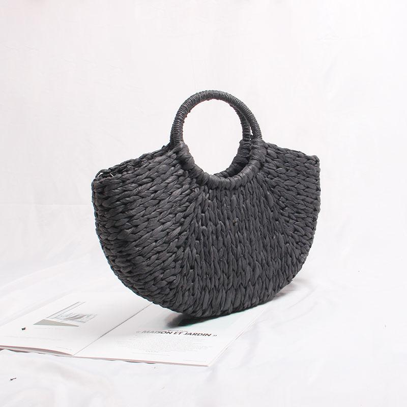 New-female portable hand-made by European and American fashion bag seaside holiday beach bags