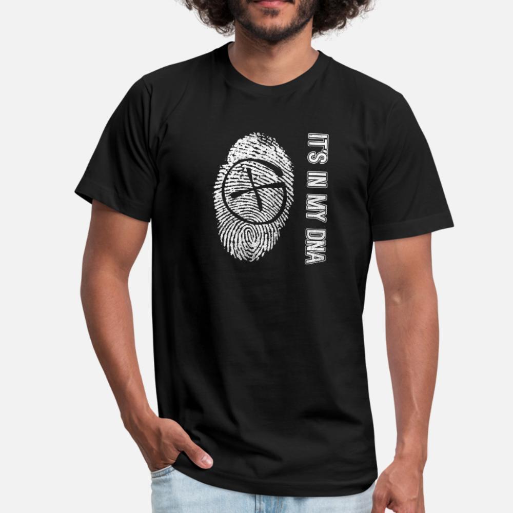 Geocaching Dna t gömlek erkekler Özelleştirilmiş tişört O-Boyun Boş Hediye Bina Bahar Doğal gömlek