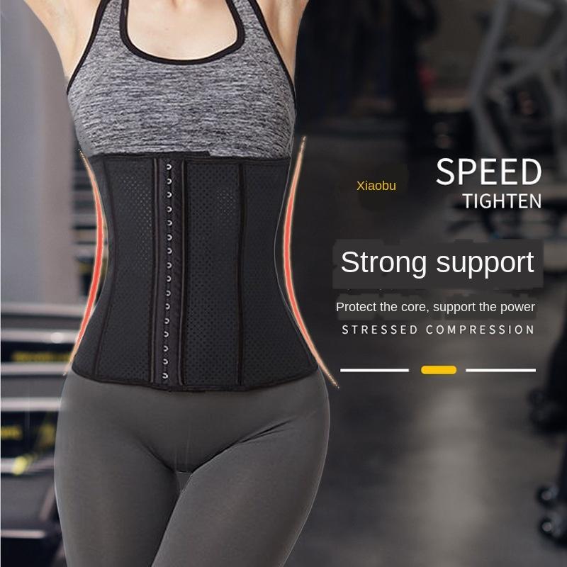Belly-binding in lattice traspirante sport cintura in vita-di tenuta delle donne di yoga vita impegnativa esercitazione della cinghia successiva al parto esercizio fitnes addome-chiusura