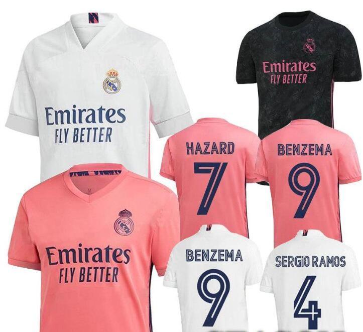 19 20 21 Real Madrid RISQUE BENZEMA SERGIO RAMOS Hommes Football Maillots MODRIC MARIANO kroos CITP Domicile Extérieur 3 T-shirt de football de Noël