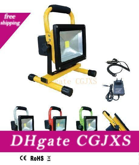 Ücretsiz Kargo Sıcak Satış Taşınabilir IP65 Led Projektör şarj edilebilir 50w Dış Kamp Lambası Acil Işık ile Şarj