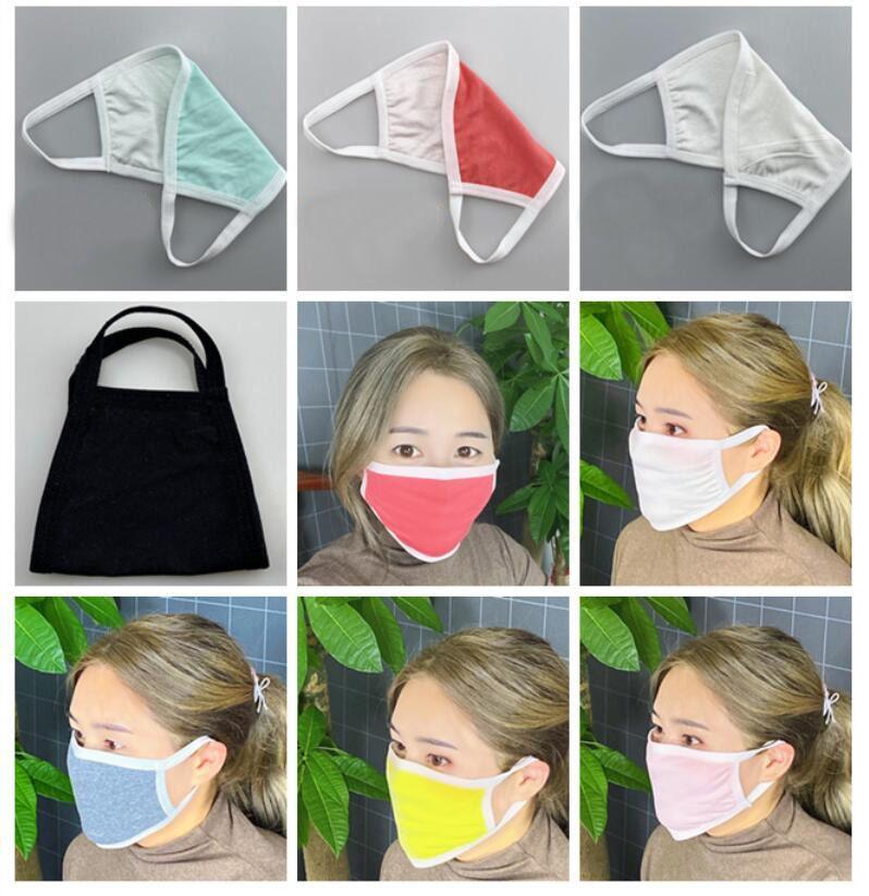 Maschere di design maschera a prova di raggi ultravioletti lavabile antipolvere respiratore Equitazione Sport Bocca Maschere uomini e donne esterni