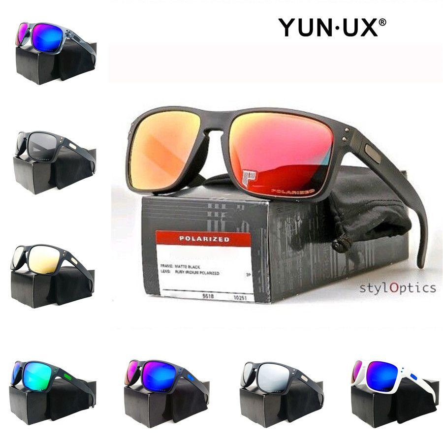Yeni erkek Özel Moda Güneş Gözlüğü Duman Mat Siyah Çerçeve Polarize Lens YO9102 Yüksek Kaliteli Açık Gözlük Ücretsiz Nakliye Toptan