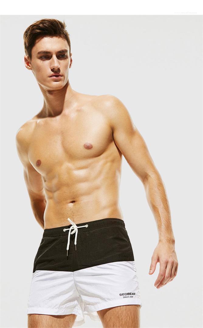 Vita Shorts Uomo Abbigliamento casual Uomo Beach Shorts Panelled Colori Designer Mens Shorts Moda Quick Dry elastico