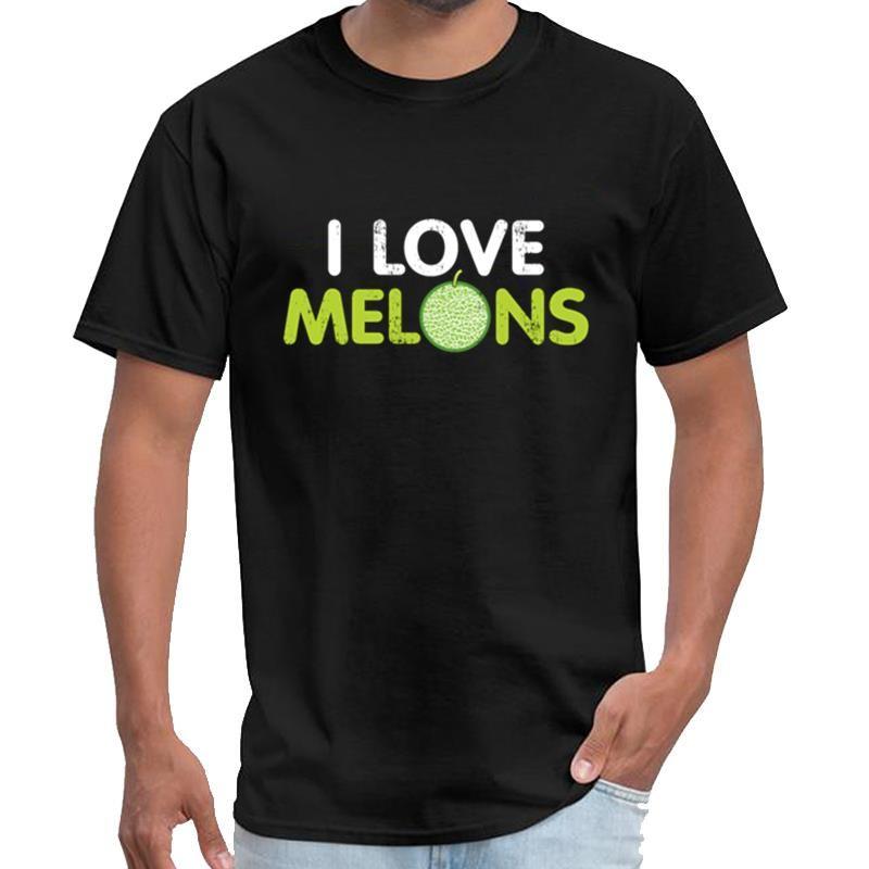 Printed I Love Melons Geschenk Sommer-Frucht vipkid T-Shirt Frauen vostok amphibia T-Shirt s-6xl Tee oben