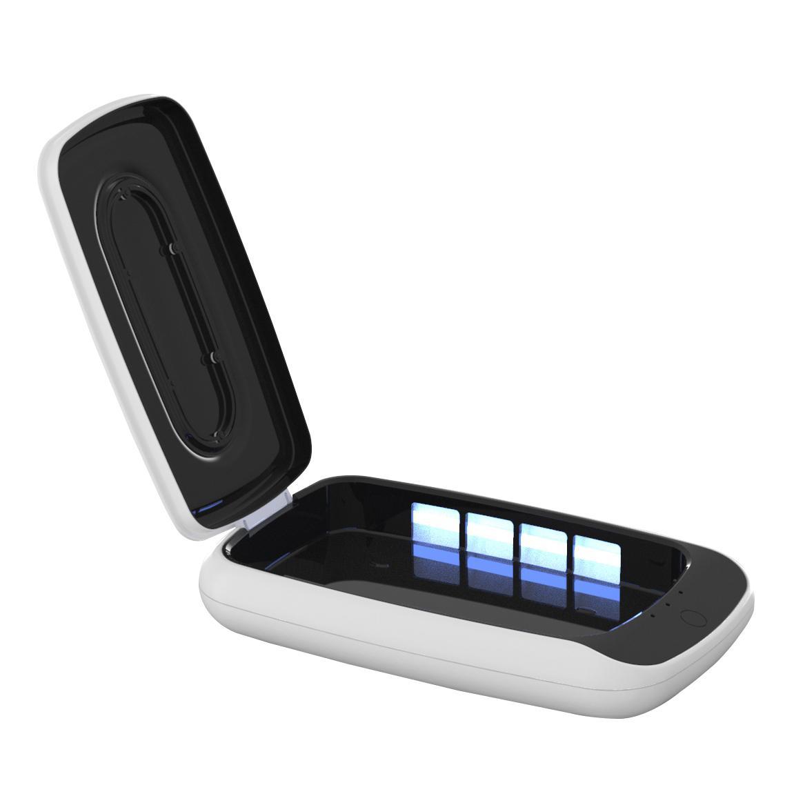 Ricarica USB ha condotto la luce UV Sanitizer portatile UVC luce disinfezione Box portatile UV di disinfezione per il telefono hotel Traval potabile Style