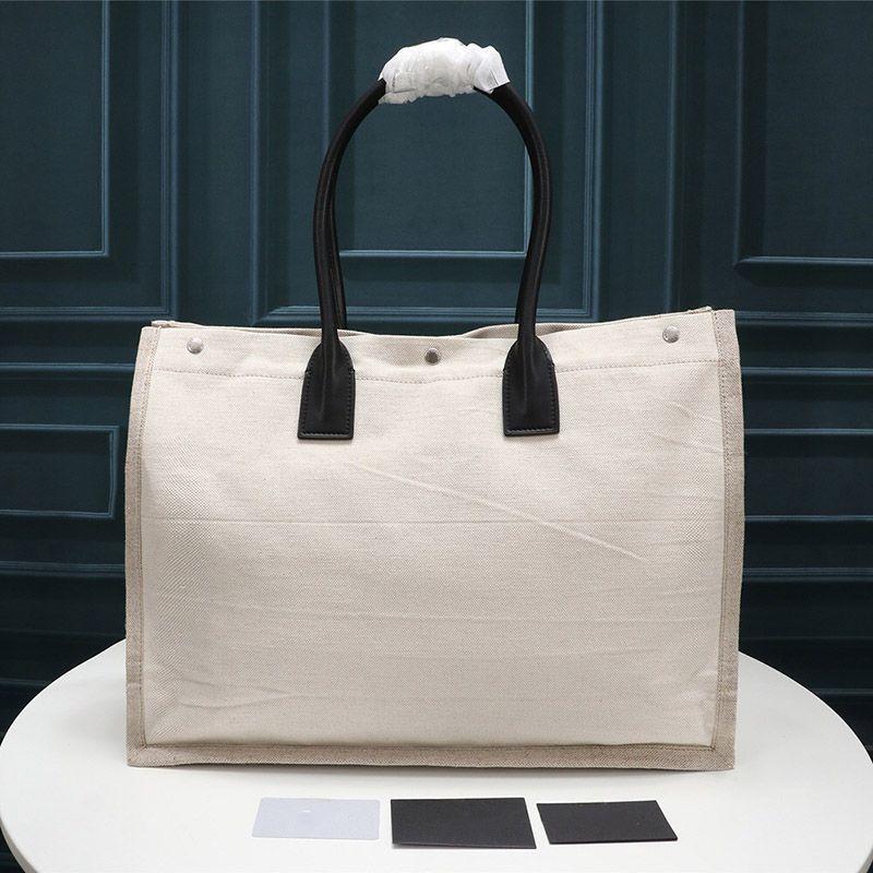 Designer de luxe Sac à main Rive Gauche Sac en toile achats de mode de haute qualité Les grands sacs de plage mode sac de voyage Sacs