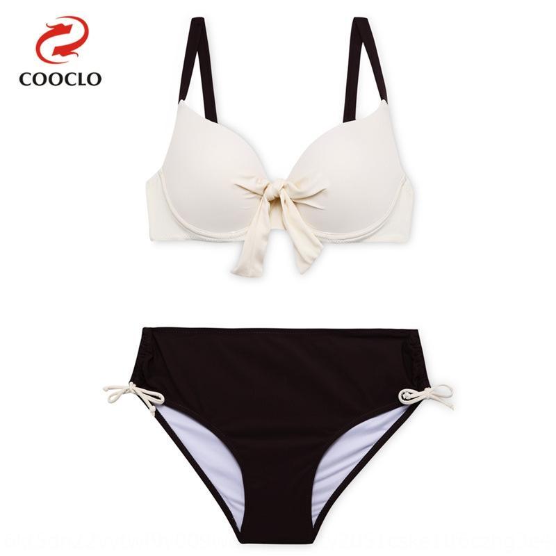 Poitrine de liaison simple, pompon couleur unie douce frais confortable poitrine fixation simple, confortable frais bikini de perles douce Beade couleur unie