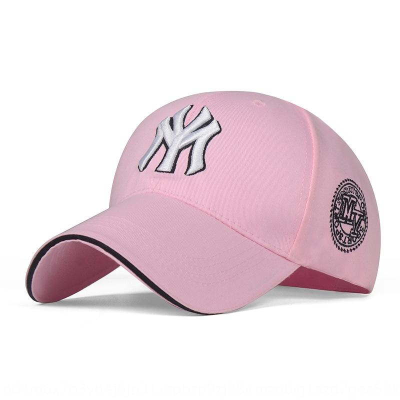 New baseball trendy embroidered baseball cap men's and women's sun hat sand sports cap fashion youth duck tongue hat