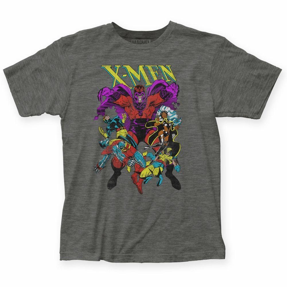 de X-Men Magneto Wrath Marvel Comics Licenciado Camiseta Novas 2019 Mens T-Shirts Moda adultos