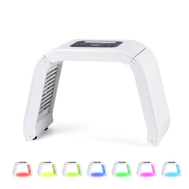 7 색 LED 광자 빛 치료 LED는 스킨 케어 바디 케어 아름다움 기계 피부 회춘 여드름 치료 PDT 주도 아름다움 빛 기계 마스크