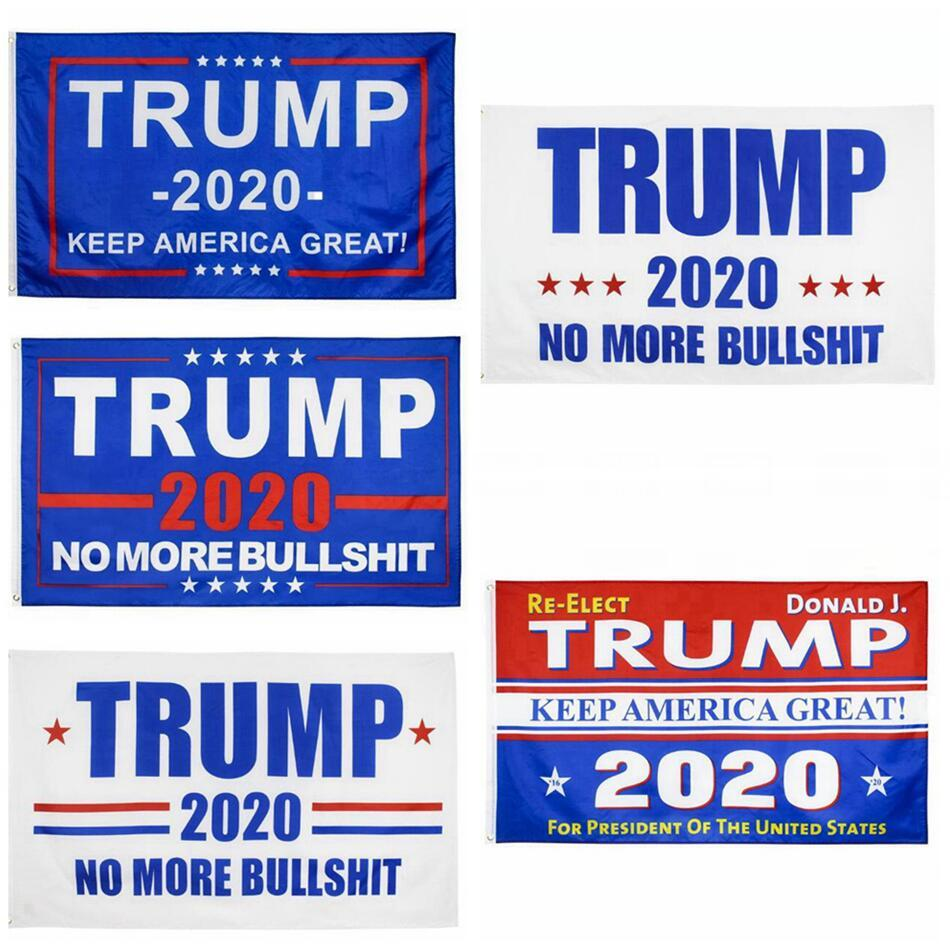 11 stili 90 * 150cm Trump Bandiera Decor Banner America del Presidente Elezione Forniture Stati Uniti d'attaccatura digitale di stampa Bandiere decorazione del giardino LJJP399