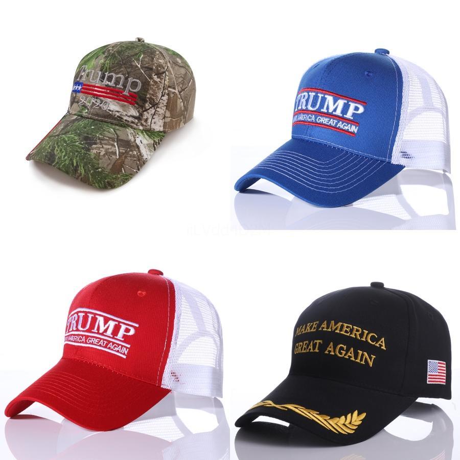 Donald Trump 2020 berretti da baseball rendere l'America Great Again Cappello ricamo sfera di sport Hat Esterni Beach Sun Cappello # 933
