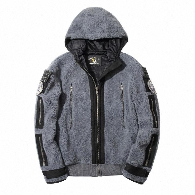 Mens fantôme tactique Outfit Sweatershirt capuche veste du manteau de combat cosplay Réchauffez Styles Winterspring Taille Plus S-5XL rueM #