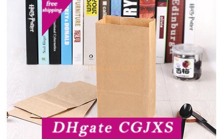 Brown Kraft Paper-Geschenk-Beutel Hochzeits-Süßigkeit-Paket Recycelbar Cloth Speisen Brot Einkauf Verpackungs-Beutel bestes Geschenk-Paket