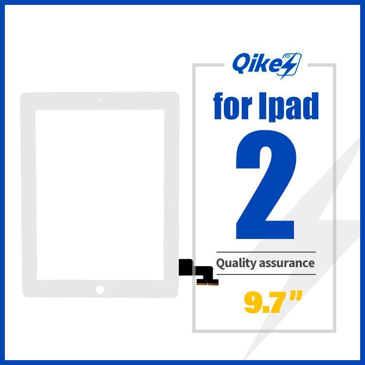 iPad 2 Ekran Dokunmatik A1395 A1396 A1397 Dokunmatik Sayısallaştırıcı Sensörü Cam Panel FrameOuter Dokunmatik Ekran Ön Cam Panel Değiştirme