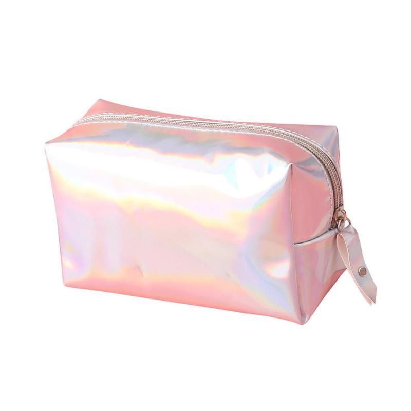 Sacchetto dell'estetica di trucco di caso di immagazzinaggio del sacchetto cosmetico di modo per compone Lady Magic Color impermeabile Rossetto bagagli K518