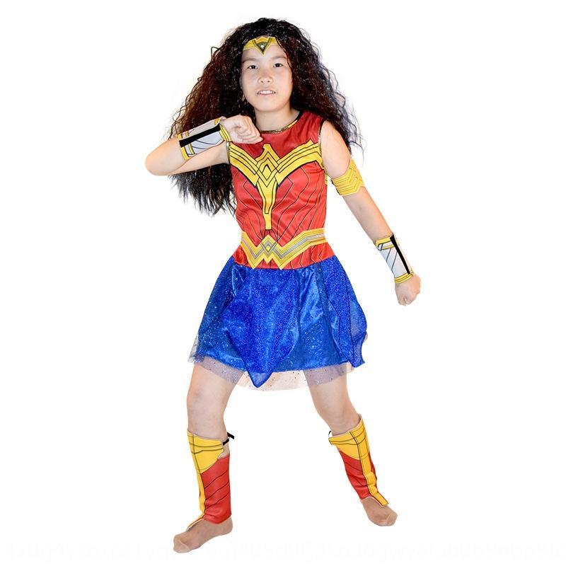 League Wonder Woman costume Halloween cosplay girls dress children's performance clothing alliance service Justice League Wonder Woman cost