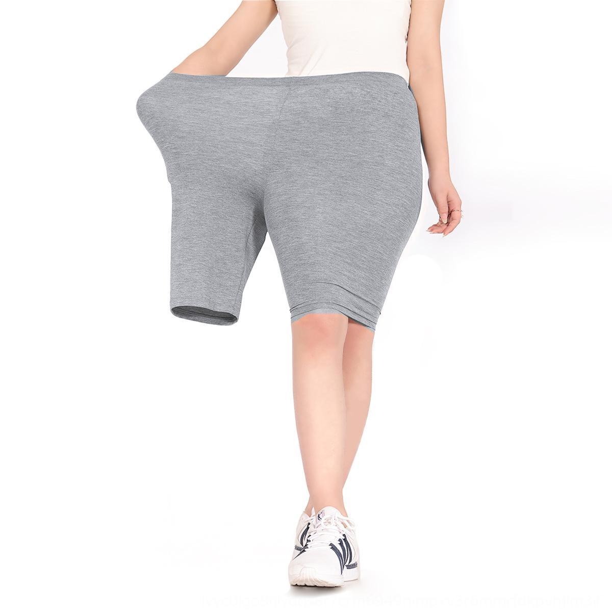 Fabrik Ist gerade 2020 Sommer-Außenhosenfrauen Hose und Hosen 103 modale hohe Taille Hüfte-Hebe Barbie Hosen