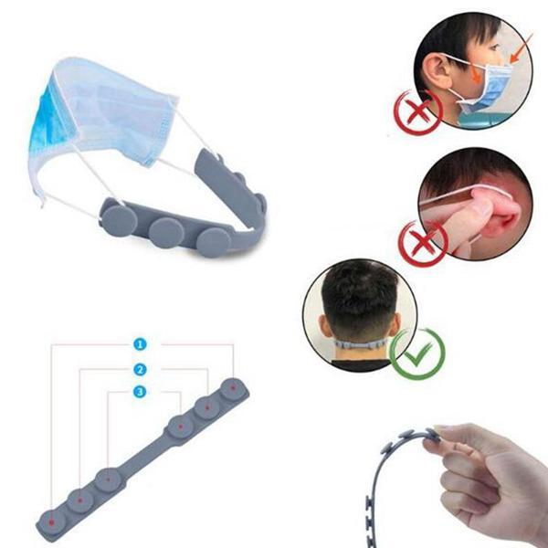 Maske Ohrbügel Dritter Gang Einstellbare Anti-Rutsch-Maske Ohr Griffe Aufnahme Haken Gesichtsmasken Buckle Halter Verstellbare Gesichtsmaske Haken Ohr Schnalle