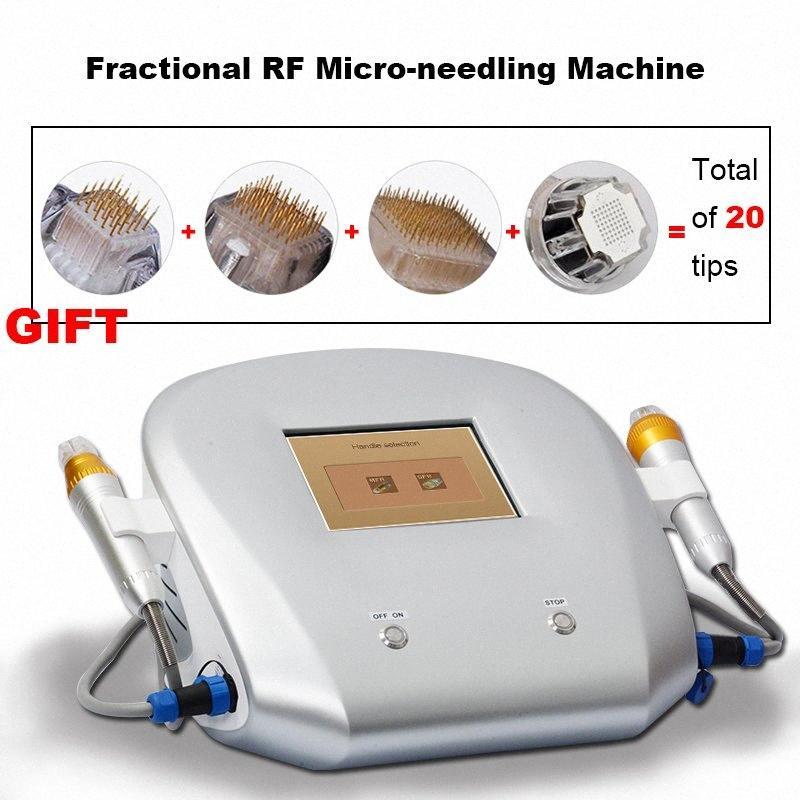 El uso del salón fraccional Rf de Microneedle estiramiento facial más eficaz Micro Equipo de RF Aguja Con 4 Tipos de agujas 5dMK #