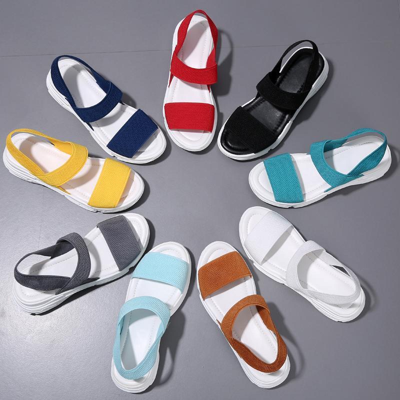 2020 Scarpe Estate Donna Sandali Moda rinfrescante all'aperto Donna Casuale Large Size sandali di tendenza delle donne di moda Snadals