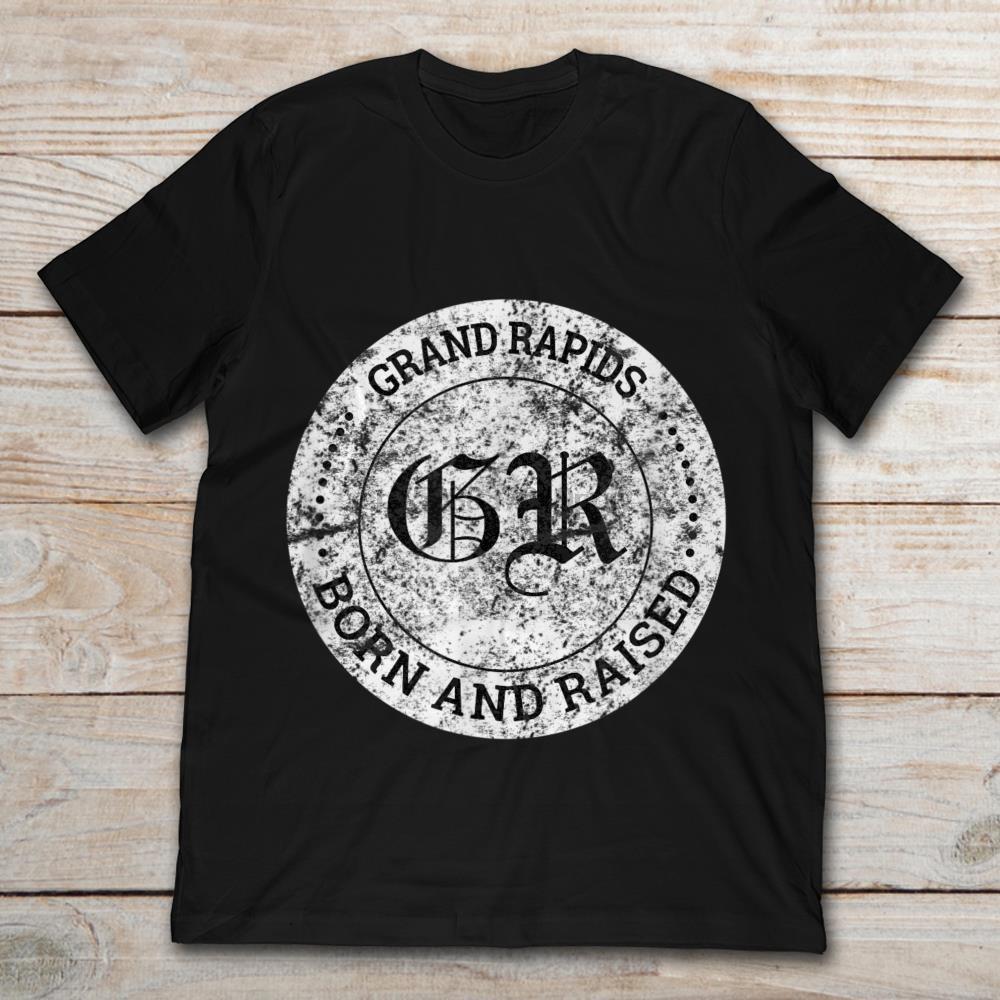 Grand Rapids Nascido E T-Shirt Raised