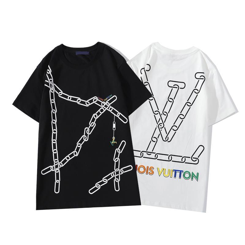 2020 Мужская футболка Мода Medusa Футболка с коротким рукавом лето вскользь высокого качества Mens конструктора тенниски S-3XL