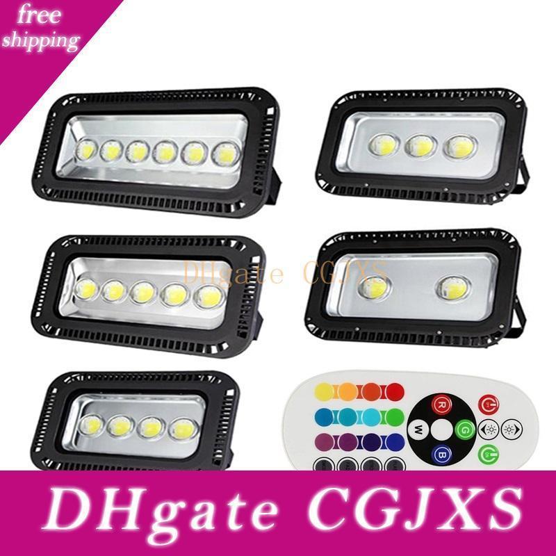 200w 300w 400w 500w 600w RGB-LED-Flutlicht-Farbwechsel Synchronisieren im Freien geführte Flutlicht wasserdicht für Landschaftsbeleuchtung