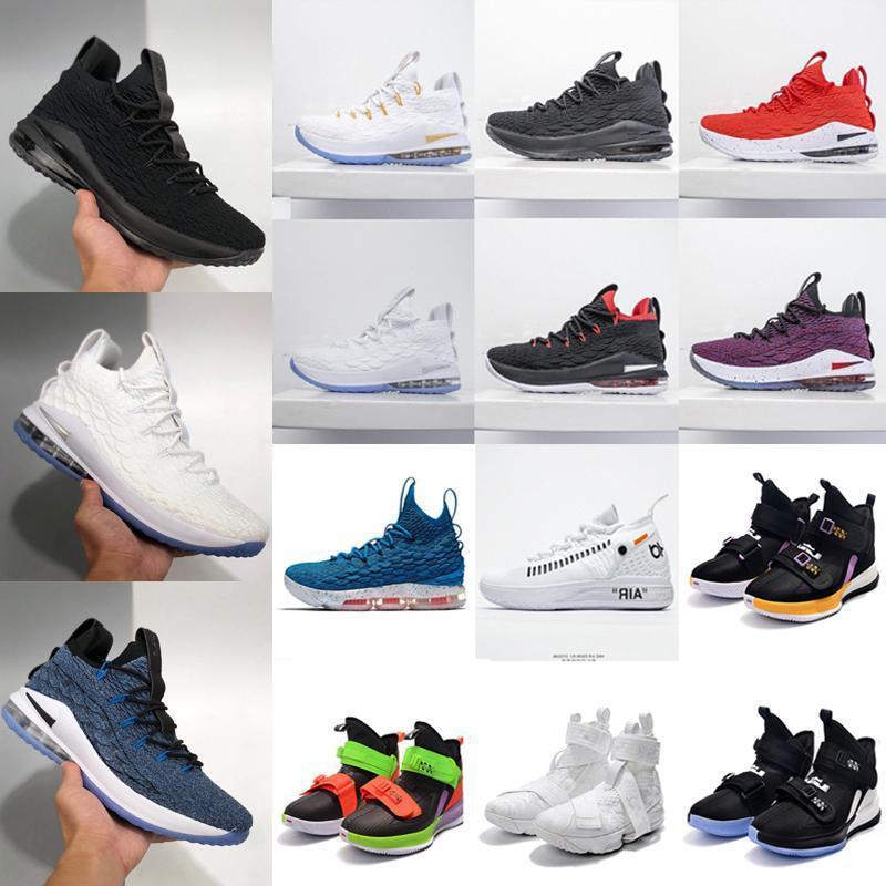 2020 nuevaLeBron 15s igualdad 15 xvii baja sintonía escuadra caliente venta James camiseta de baloncesto SVSM EP Deportes mejores zapatos de los hombres chaussures envían W6EV #