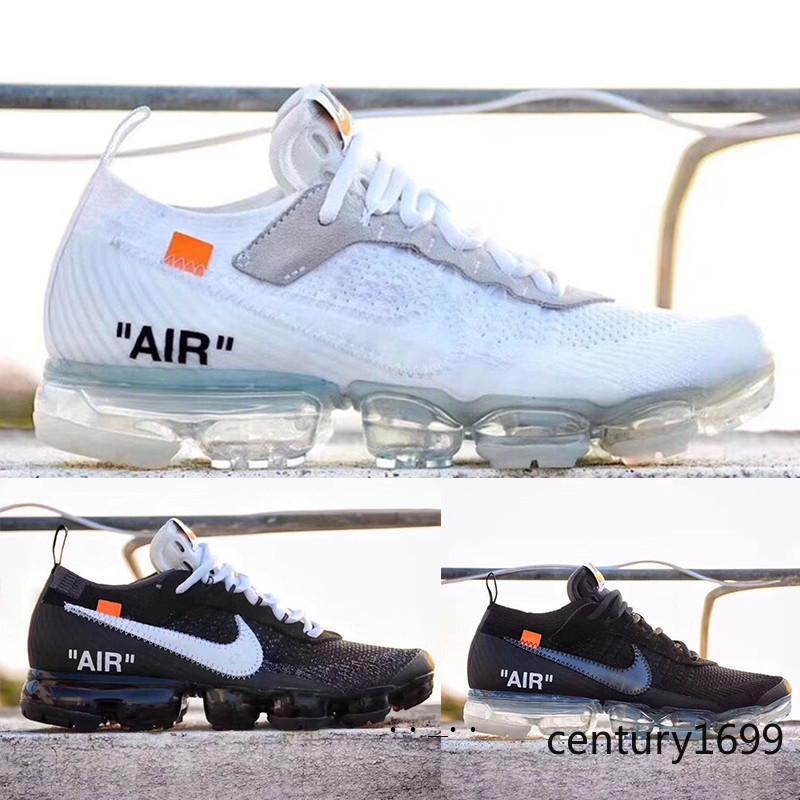 Nike Vapormax air max Hot 2018 VRAIES Hommes Chaussures Femmes Mode Sport Athlétique Corss Randonnée Jogging Marche Plein Air Chaussures JJU5Z