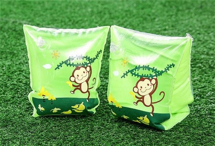 Cartoon children thickened swimming float sleeve Learn swimming equipment Arm circle Inflation swimming Arm Ring T3I0347 OX0j#
