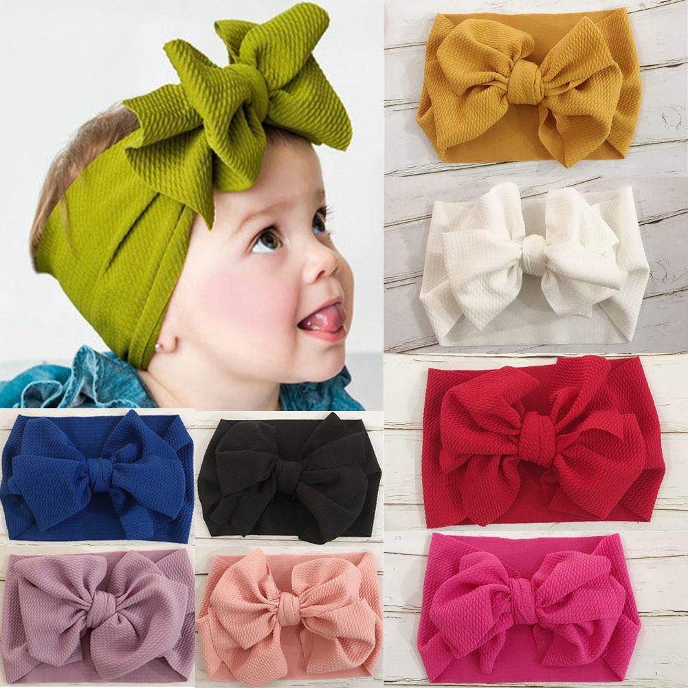 Del niño del arco de las muchachas niños Hairband turbante nudo linda diadema Headwear Ch01