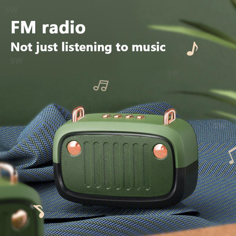 New Cool Portable Bluetooth Speaker FM Wireless For PC Computer Column Subwoofer Boom Box Music Center Loudspeaker Sound System