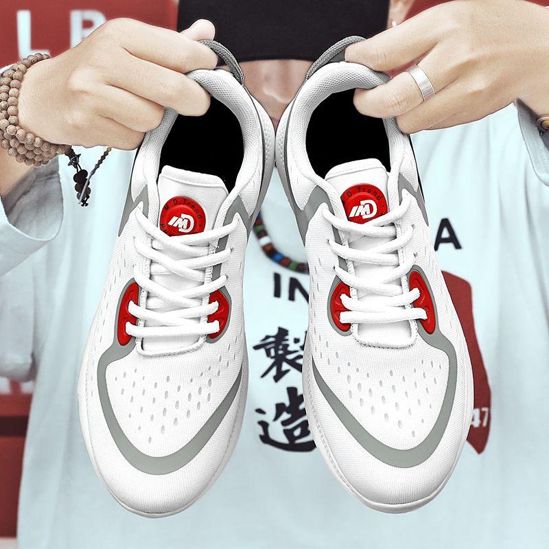 2020 yeni moda spor ayakkabı erkekler rahat ayakkabılar erkek erkek spor salonu çalıştıran üst ıslak ışık örgü uçan hava geçirgen