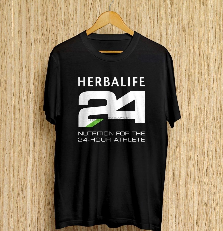 Divertido Herbalife Nutrición 24 Hour Fitness camiseta de los hombres de tamaño normal S M L XL 2XL 3XL (1)