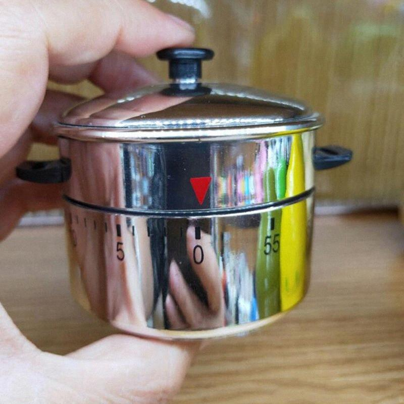 Haushalt 60 Minuten Mechanische Timer Neuheit Countdown Kochen Wecker Zeit Erinnerung Küchenhelfer Countdown Küche Glocke FCCI #