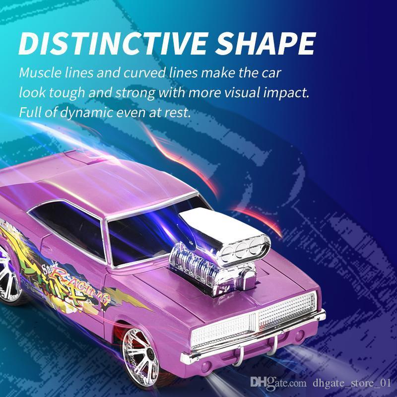 1:18 RC Drif de coches de control remoto Juguetes eléctrica rotativa vechile modelo Para Niños niños y regalo 02 Stunt Car 2.4G