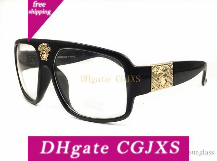 Super grande cornice occhiali da sole polarizzati degli uomini classici Trend Stelle Wear Occhiali da sole donne Grande Struttura esterna Sunglass Occhiali