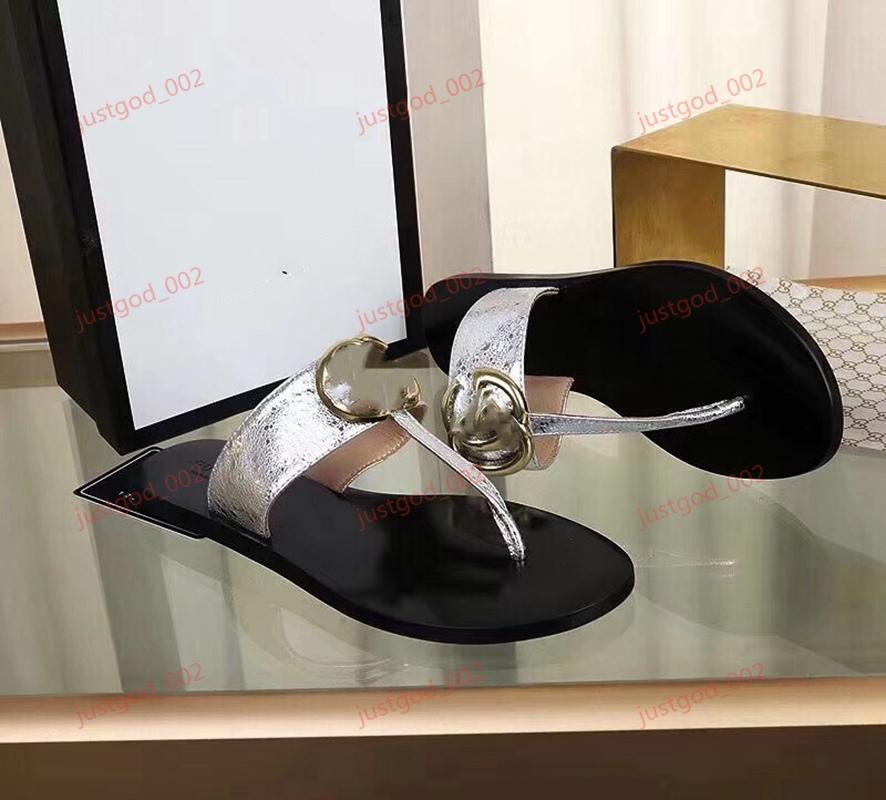 2020 progettista lusso New fashion women's sandals Fashion Sandals Bohemian Slippers Woman Flats Flip Flops Shoes Summer Beach Sandals 36-46