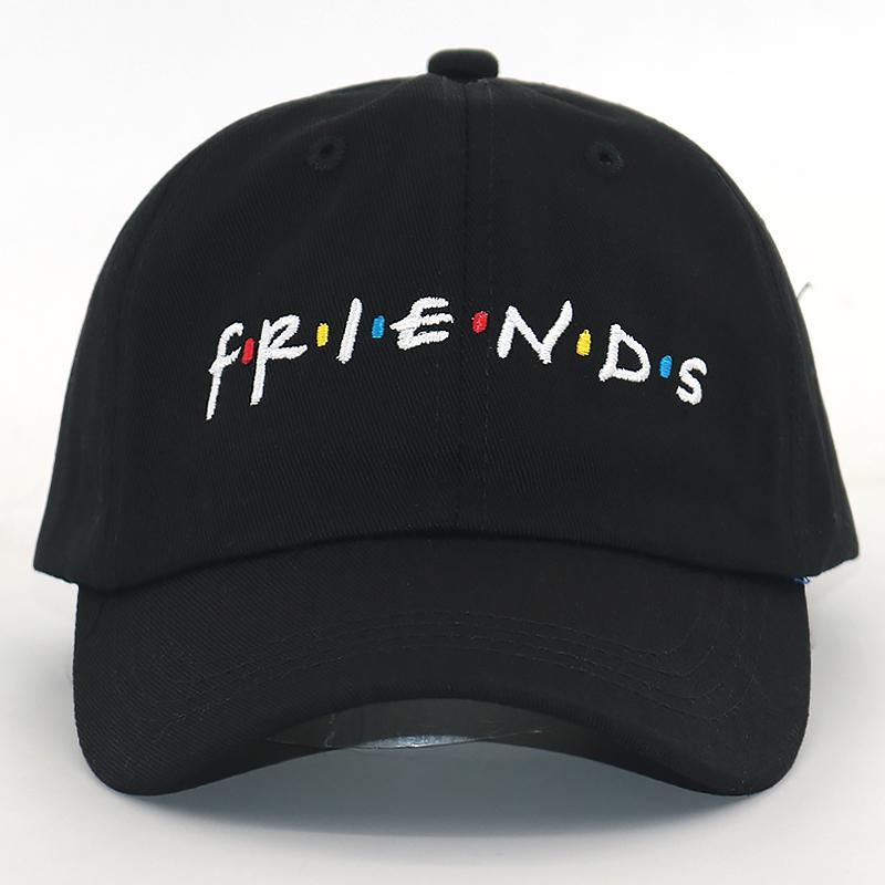 النساء الرجال الأزياء لربيع وصيف أبي قبعة أصدقاء التطريز قبعة بيسبول القطن قابل للتعديل القبعات snapback القبعات عارضة جديدة T200826