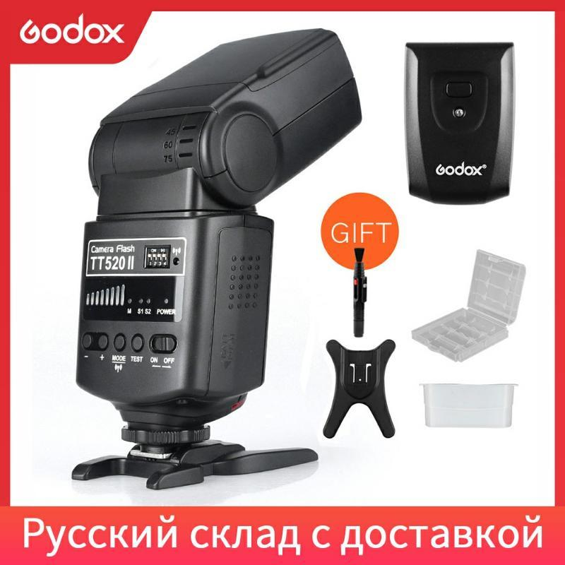 Godox Kamera Flash520II mit Build-in 433MHz Wireless Signal für Pentax DSLR-Kamera