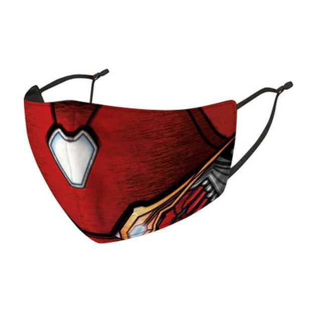 Capitão América Winter Soldier máscara máscaras pacote individual Máscaras lavável reutilizáveis Capitão América Navios em 1 Dia Reino Unido Reino Unido melhor