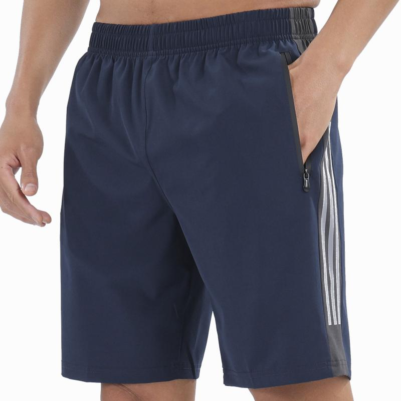 Şort Hızlı kuru Gym Giyim Fitness Egzersiz Şort Erkekler Spor Kısa Pantolon Tenis Basketbol Futbol Eğitimi Şort Y200901 Koşu Erkek