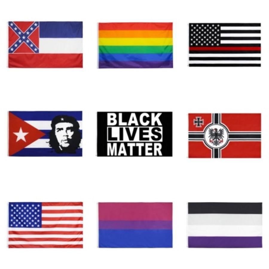 БЕСПЛАТНАЯ ДОСТАВКА Оптовая Цифровая печать однослойные полиэстер Настраиваемый дизайн флага 3X5Ft с двумя латунными креплениями # 611