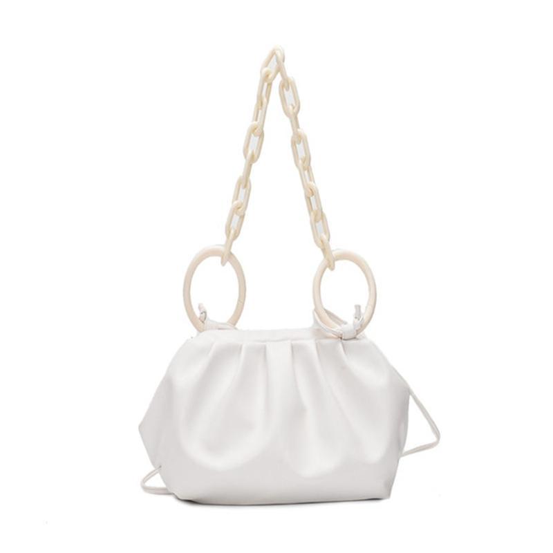 Mode Tasche Handtasche täglich einzigartige Taschen Schulter Weibliche Temperament Farbe Feste Dating Frauen Elegante Hohe Qualität Lady Bags LVJDC