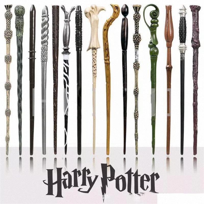 Гончары волшебных палочек Гарри Поттер Волшебная палочка с Ollivanders Wand Box 18 Роли Гермионой Волдеморт волшебных палочки Хэллоуин Косплей Novelt uF5l #